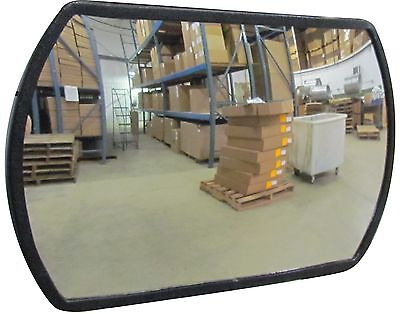 "#1 Industrial Rated 24"" x 36"" Rectangular Acrylic Convex Mirror Made in the USA"