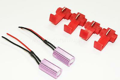 2x  RESISTOR CANBUS LED LICENSE PLATE PARK LIGHT MATRICULA POSICION RESISTENCIA