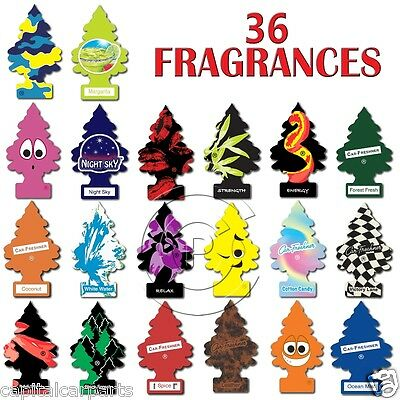 Magic Tree Little Tree Home/Van/Car Air Freshners - Choose from 36 Fragrances