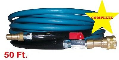 New Air Mover Blue Carpet Cleaning Truck Mount Wand Solution Hose 3000 PSI