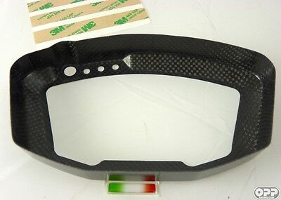 NEW W Series Ducati Carbon Instrument Cluster Surround Cover