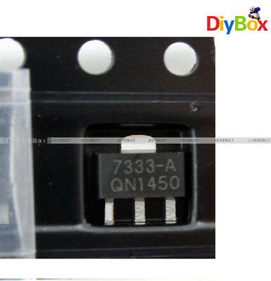 10PCS HT7333-A HT7333 3.3V SOT-89 Low Power Consumption LDO Voltage Regulator D