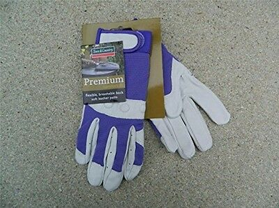 Town and Country Small Comfort Fit Premium Gardening Gloves For Ladies