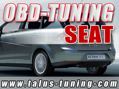 CHIPTUNING SEAT Altea & XL 1.9 TDI PD - OBD-Tuning Do-it-Yourself inkl. Flasher