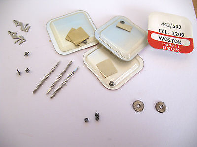 Wostock 2209 Poljot 2209  Assorted Watch Movement Parts