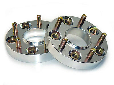 JJR 25mm Bolt-on Wheel Spacers - M12 x P1.5 (5 x 100)