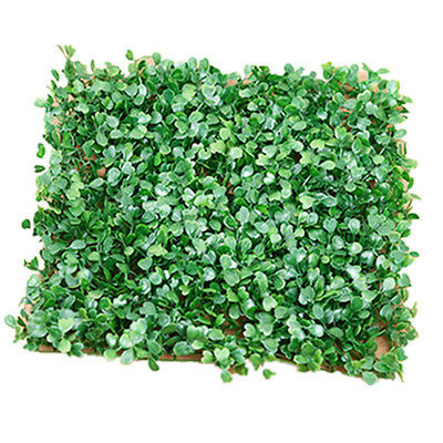 25cm Artificial Fake Plastic Green Grass Lawn Sod Flower Plant Home Garden Decor