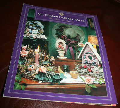 Victorian Floral Crafts~Easy Projects For Beginners Booklet