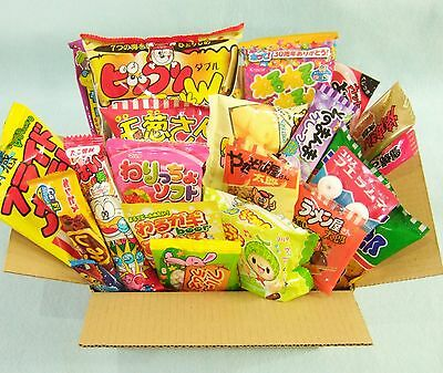 30 PCS Japanese Candy DAGASHI Set Japanese Snack Sweets Chips Chocolate New Gift