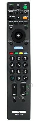 Replacement Remote control for Sony Bravia RM-ED016 , RMED016