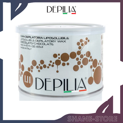 Depilia Cera Depilatoria In Barattolo Liposolubile Al Cioccolato 400 Ml