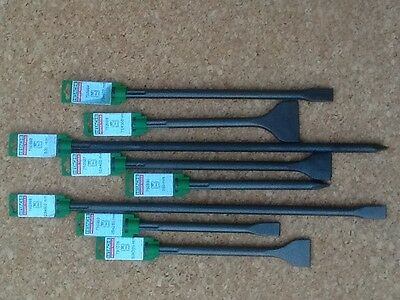 Hitachi SDS-Max Chisels - Top Quality- European Manufactured- 9 sizes available
