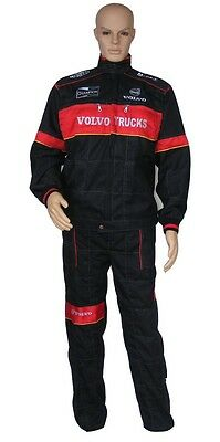VOLVO Overalls Embroidered Logo on Front and Back size M L XL XXL XXXL