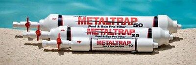 Metaltrap Filter Removes Metals From Pool and Spa Water - 3 sizes available