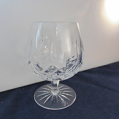 SET OF TWO - Waterford Crystal LISMORE Brandy Glasses