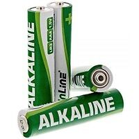 InLine Batteria Alcalina High Energy, ministilo AAA LR03, 1,5V, Conf. 24pz