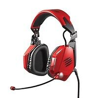 Mad Catz F.R.E.Q. 7 Dolby 7.1 Gaming Headset Red