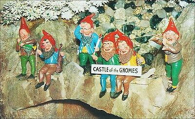 Roadside Attraction: Gnomes Music Band, Rock City, Chattanooga, TN. 1950s.