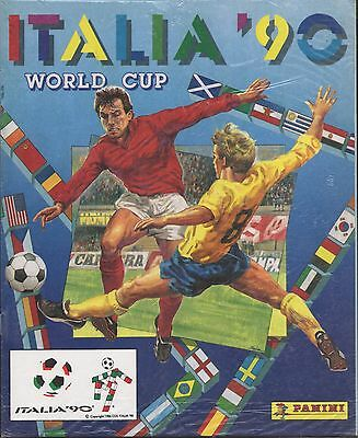 FIFA World Cup Soccer 1990 Italy PANINI Album reprint
