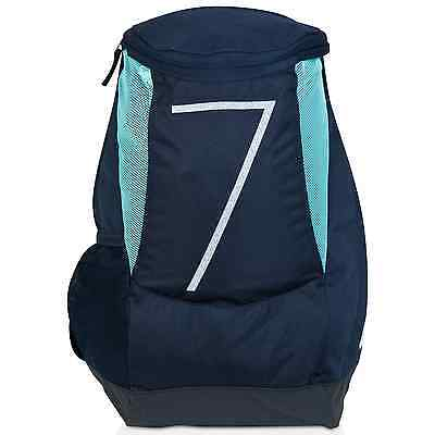 ca6b3dc5a7f9 NIKE KYRIE IRVING Backpack Black Blue Jay Lacquer BA5133-013 School ...