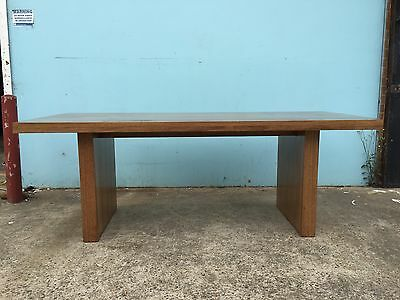 Local Made Solid Recycled Tassie Oak Hardwood Timber Byron+ Dining Table 2400w
