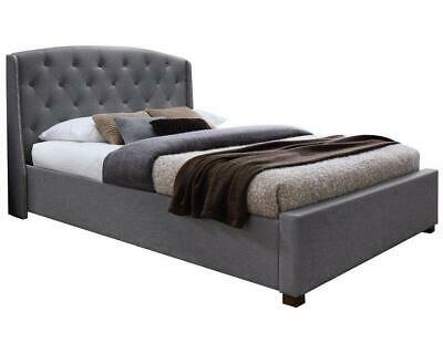 J&M Iris Queen Size Bed Chic Contemporary Modern style