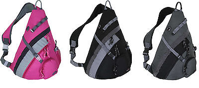 "20"" HBAG Sling Backpack Single Strap Shoulder Bag Sports School Travel Gym Pack"