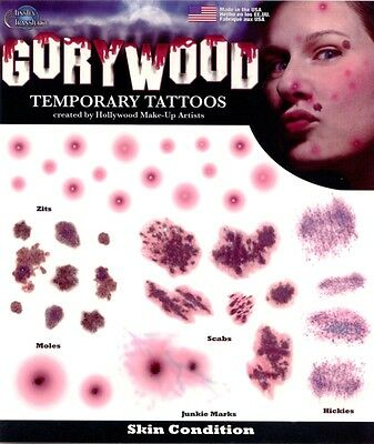 Gory Wood Tattoo: Skin Condition