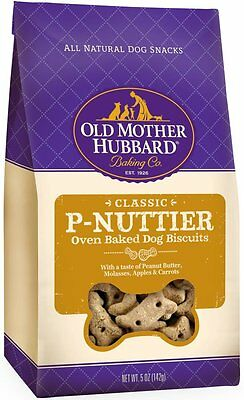 Old Mother Hubbard Crunchy Classic Natural Dog Treats Flavor Name: P-Nuttier AOI