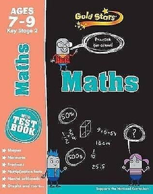 Gold Stars Maths  7 -9 Years  School  Workbook - Key Stage 2