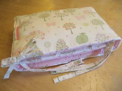Custom Made Laura Ashley ESME Cot Bumper
