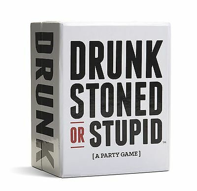 DRUNK STONED OR STUPID [A Party Game] DRUNK STONED STUPID NEW Sealed