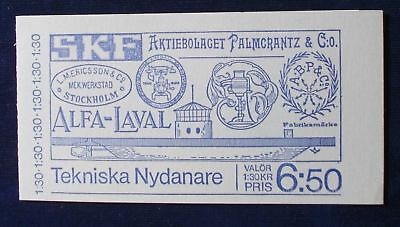 Sweden SC# 1170a 1976 Angermanland Province Views Booklet MNH