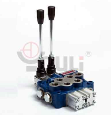 Hydraulic 2 Spool Remote Double Acting Control Valve
