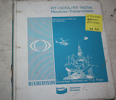 Bendix RT-131A / RT-1401A Receiver Transmitter Maintenance Manual I.B21401A