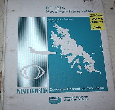 Bendix RT-131A Receiver Transmitter Maintenance Manual