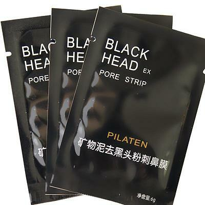 2X Blackhead Mask Remover Acne Purifying Nose Peel Off Deep Cleansing UK