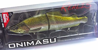 Duo Realis Onimasu Swimbait Floating Color CCC3836 Rainbow Trout ND