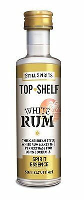 Still Spirits Top Shelf Spirit Essences WHITE RUM x1
