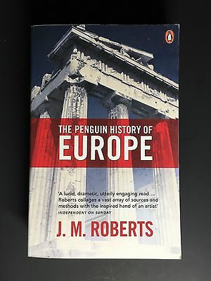 NEW The Penguin History of Europe by J.M. Roberts Paperback Book (English)