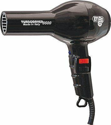 ETI Turbodryer 3500 Professional Salon Hair Dryer - Black