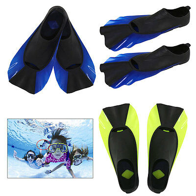 AU Pro Youth &Adult Snorkeling Scuba Diving Flippers Swimming Training Swim Fins