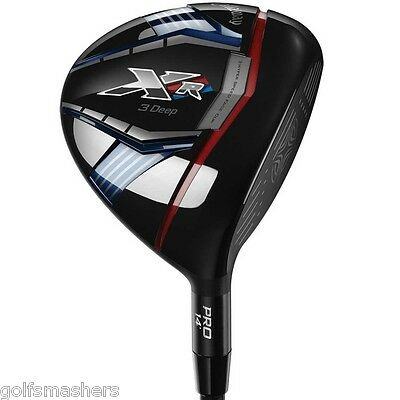 Callaway XR  3 Deep Specialty Fairway wood 14deg Stiff Flex Men's Right Hand NEW