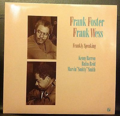 Frank Foster, Frank Wess – Frankly Speaking -  LP - MUS