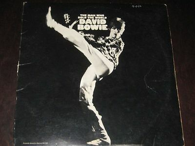 David Bowie rare '71 US press LP The Man Who Sold The World on RCA EX