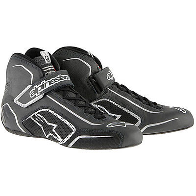 Alpinestars 10115104B10 Tech 1-T Shoes Black/Anthracite Size 10