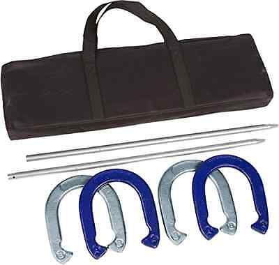 NEW Tailgate 360 Powder Coated Waterproof Steel Professional Horseshoe Set Game