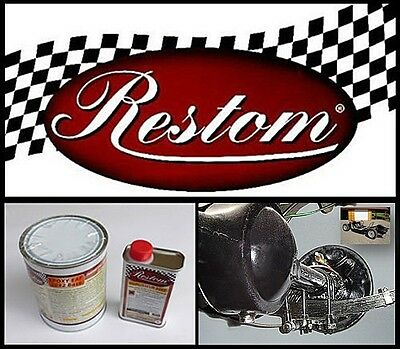 Peinture Epoxy Reston Eaf 2092 Nm Anticorrosion A Séchage Air. Noir Mat.auto