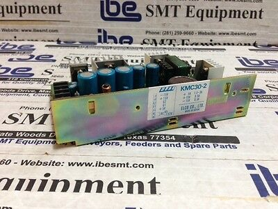 Lot of 3 ELCO 5V and 15V Power Supply KMC30-2