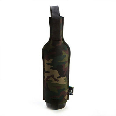 Camo Wine Tote Novelty Bottle Carrier Bag Party Gift